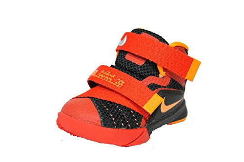 new concept d0973 df6cc Nike Toddler s Lebron Soldier IX TD Red Velcro Baby Shoes 3c - Buy Online  in Oman.   Apparel Products in Oman - See Prices, Reviews and Free Delivery  in ...
