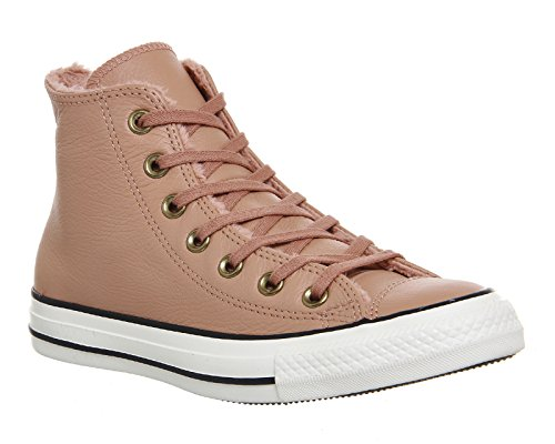 Converse All Star Winter Knit Fur Hi W chaussures 7,5 pink/black