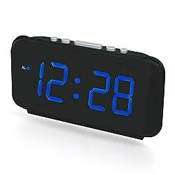 Digital Alarm Clock LED Clock Large Display Clock,Loud Clock,Snooze Clock, Clock Battery Operated Easy Operation Clock, Clock Battery Back up Alarm Clock Kids, Girls, Boys