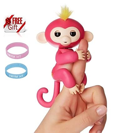 a6c3671187683 Amazon.com: Monkey Toys, Lary in tel Finger Pet Monkeys Interactive ...