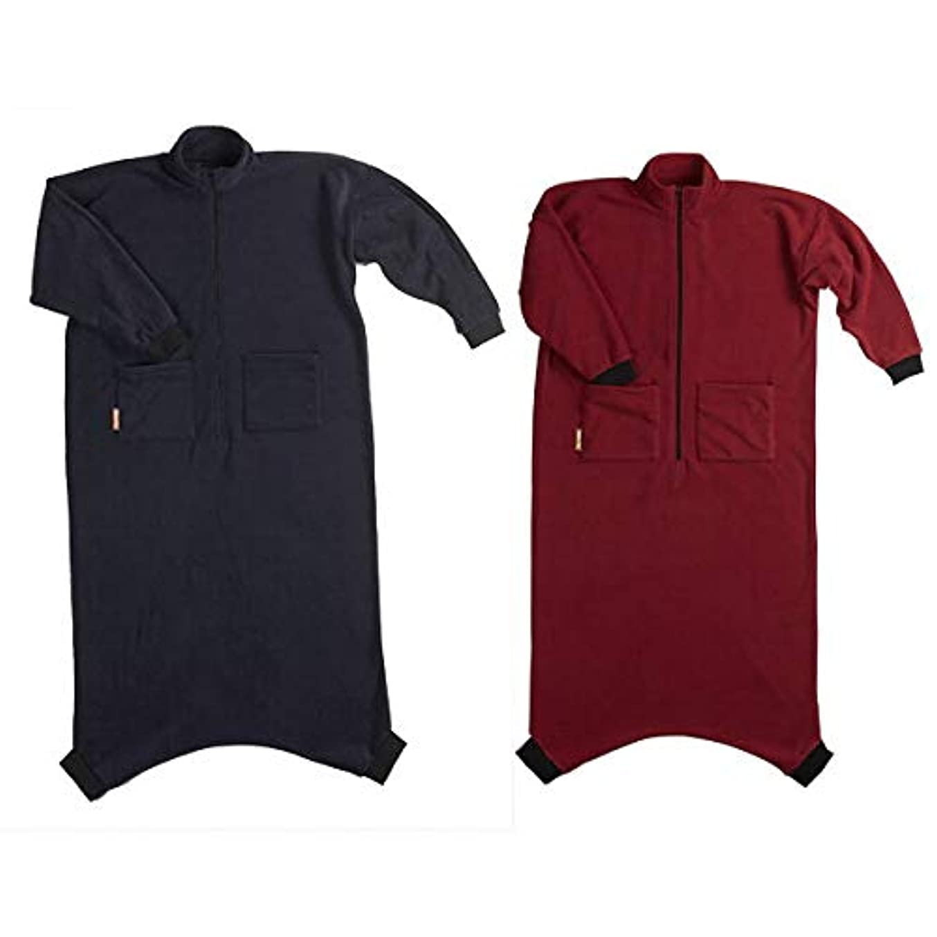 キャリア第二に自治的着る毛布 ヌックミィ/NuKME 180cm (男女兼用フリーサイズ) スタンダードガウンケット 無地