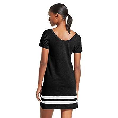 bebe Womens Nightgown Lounge Pajama Dorm Sleepwear Shirt