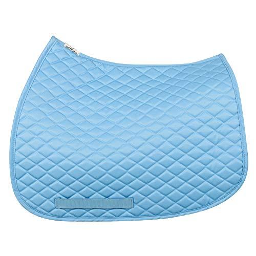 (TuffRider Basic All Purpose Saddle Pad Light Blue)