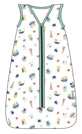 Slumbersac Summer Toddler Sleeping Bag 0.5 Tog Muslin Forest Friends 18-36 months//110cm
