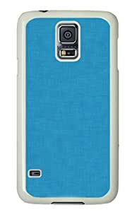 Unique Painting Cute Blue Simple Polycarbonate Hard Case Cover for Samsung S5/Samsung Galaxy S5