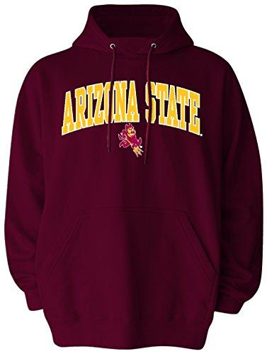 NCAA Arizona State Sun Devils Pullover Hood, Large, Athletic Maroon (Sun Devils Applique Ncaa)
