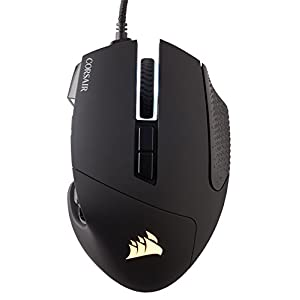 CORSAIR Scimitar Pro-MMO Gaming Mouse - 16,000 DPI- 17 Programmable Buttons (Black)