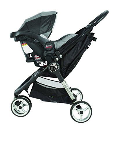 Baby Jogger Select/LUX Britax CSA MB, Black