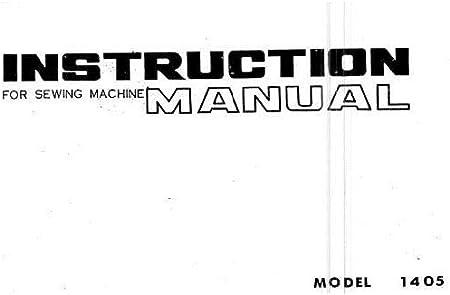 Descargar Pdf-File Singer W1405 Máquina de coser: Amazon.es: Hogar