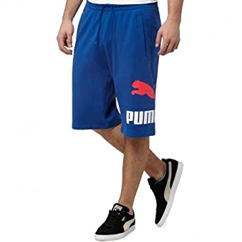 4695f76874 Bermuda Archive logo sweat Bleu Homme Puma: Amazon.fr: Vêtements et ...