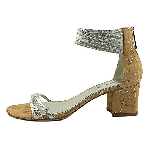 Donald J Pliner Kvinders Essie Kjole Sandal Sølv l56gzJQ