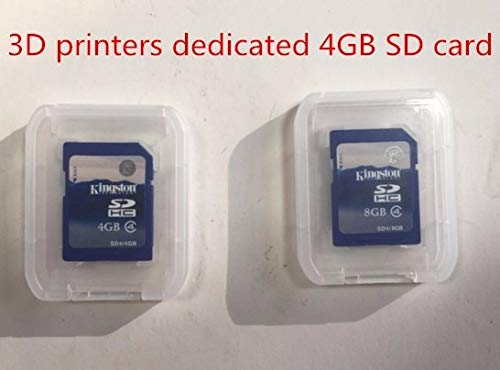 Zamtac Fast 3D Printers Dedicated 4GB SD Card red Rabbit Motherboard Accessories Touch Screen 3D Printer Accessories