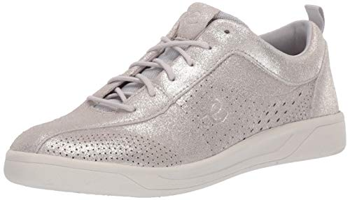 - Easy Spirit Women's FRENEY9 Sneaker, Silver, 7 W US