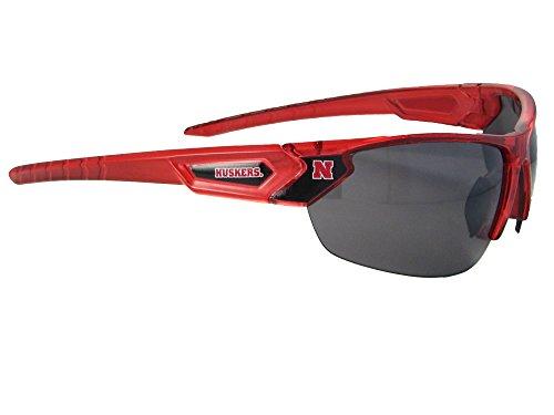 Nebraska Cornhuskers NU Red Transparent Sunglasses - Nebraska Sunglasses