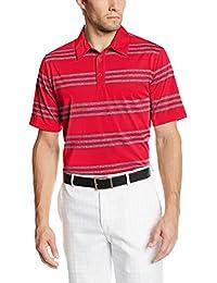 adidas Golf Men's Puremotion Heather 3-Stripes Polo