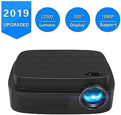Amazon.com: Proyector portátil -12000 lúmenes WiFi 1080p ...