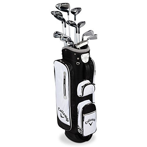 Callaway Women's 2016 Solaire Complete Golf Set with Bag (13-Piece, Right Hand,...