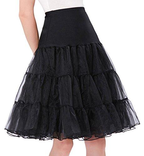 12241d96838a9 GRACE KARIN Full Poof Womens Layered Petticoat Underskirt for Dress  (2X