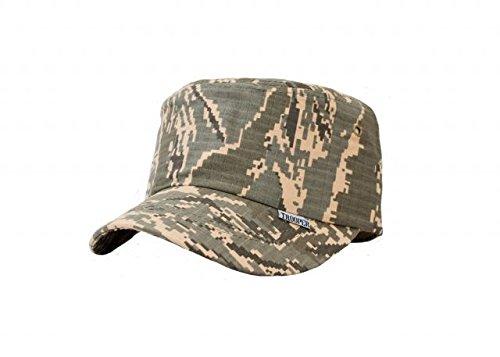 Trooper Clothing Kids Air Force ABU Patrolmans Adjustable Cap, ABU Tiger Stripe, One Size - Abu Cap