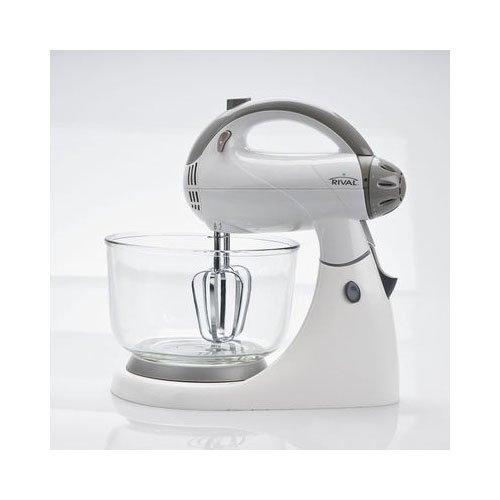 Rival Stand Mixer (12 speed, White)