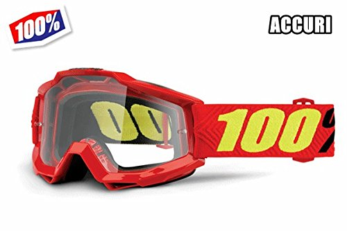100% ACCURI Goggles Saarinen - Clear Lens, One Size, used for sale  Delivered anywhere in USA