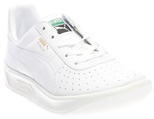 PUMA GV Special JR Sneaker (Little Kid/Big Kid), White/White, 2.5 M US Little Kid (Puma Gv Special White)