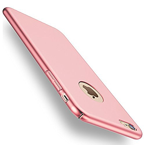 iphone 6S Case, iphone 6 Case, ACMBO(TM) Ultrathin Micro Matte [SKIN TOUCH FEEL] Metallic Texture Anti-Fingerprints Non-slip No-fade PC Phone Case Cover For iphone 6/6S 4.7 inch, Rose Gold