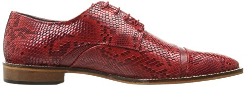 Stacy Adams Mens Rizzo Oxford Red