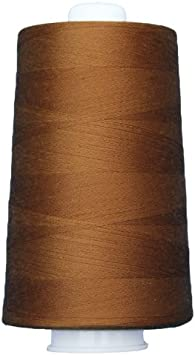 Poly-Wrapped Poly Core. Omni #3029 Milk Chocolate 6,000 Yds Superior Threads
