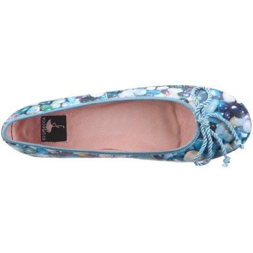 Baasan Giudecca Stone Ballerinas Blau Blue Damen LDYS1106 F7AFx