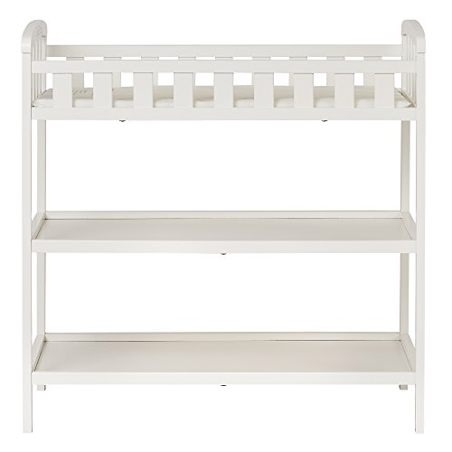 Dream On Me Emily Changing Table, White (Changing White Baby Table)