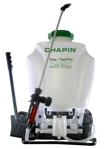 Chapin 61900 4-Gallon Tree/Turf Pro Commercial Backpack Sprayer with Stainless Steel Wand