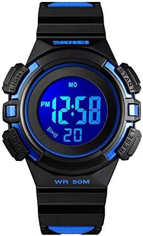 キッズウォッチ スポーツウォッチ 防水 シリコン 子供 幼児 LED腕時計 タイムティーチャー 誕生日ギフト 3~10歳 男の子 女の子 小さな子供