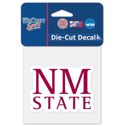 WinCraft NCAA New Mexico State University Perfect Cut Color Decal, 4
