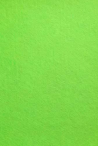 F04, Roll-Lime Green Felt fabric sticker, 1 roll (12