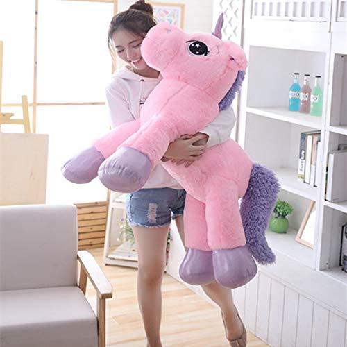 PampasSK Stuffed & Plush Animals - New Plush Pink Unicorn Toy Cute Large Lying&Standing Animal Doll Kids Appease Toys Sofa Sleeping Pillow Children 1 PCs