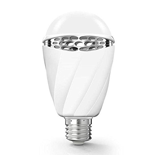 Price comparison product image Komise Voice Control E27 Smart LED Adjustable Dimmable Light Decorative Bulb For Bedroom Study Room (White)
