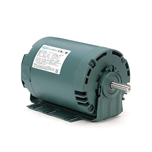 Leeson Electric E119361.00, .75HP, 1725 RPM, 3 Ph, 230V,460V, 56H Frame, Open, Electric Motor