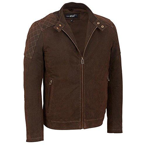 Black-Rivet-Adult-Big-Tall-Open-Bottom-Leather-Jacket-WShoulder-Diamond-Tops
