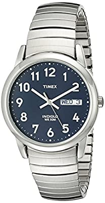 Timex Men's Easy Reader Day-Date Expansion Band Watch from Timex