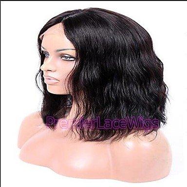 DSY belleza peluca Lace Front Peluca 100% Cabello Humano Natural Peluca Recta para mujer afroamericana