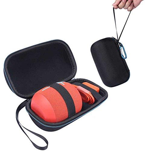 携帯ケースfor UE Wonderboom – masikenハードEva保護Travel Carry Case for UE Wonderboom Bluetoothスピーカー – Fitsプラグ&ケーブル   B071L99TS7
