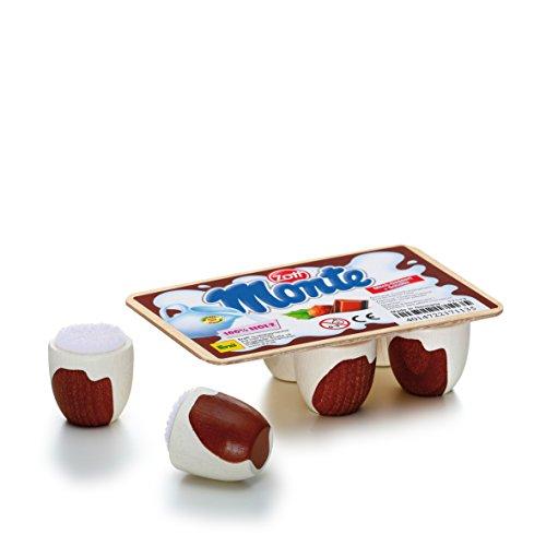 (Erzi Pretend Play Wooden Grocery Shop Merchandize Dessert Zott Chocolate Milk Cream, 10.5 x 7 x 3.2cm )