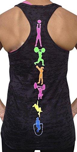 SoRock Womens Fitness Moves Black