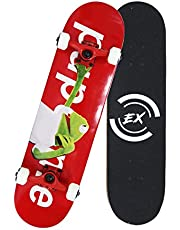 Pro Skateboard Standard Skateboards Cruiser Complete Canadian Maple 8 Layers Double Kick Concave Skate Boards