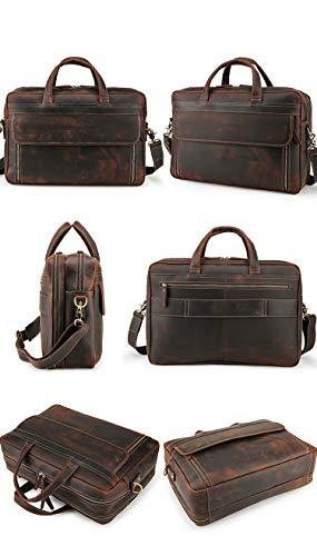 Buy leather slim laptop bags for men