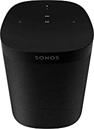Sonos One (Gen 2) - Voice Controlled Smart Speaker with Amazon Alexa Built-in - Black