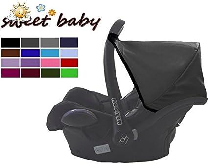 Sweet Baby * * negro * * universal Capota/techo para Maxi Cosi Cabrio/