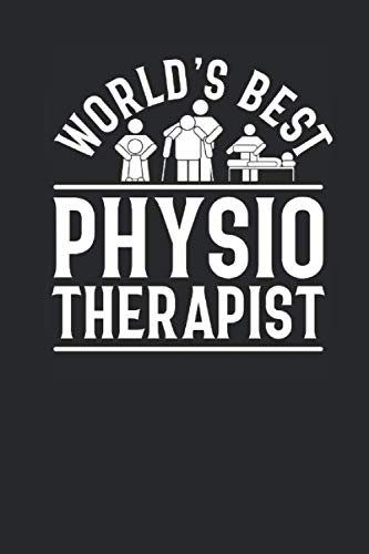 World's Best Physiotherapist: Dotted Bullet Notebook (6