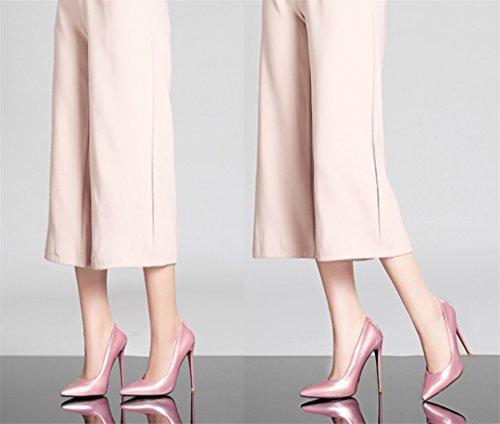 Party Queen EU43 Luxury A 4 Scarpe Sposa Con Season Donna Sandali LUCKY Pink CLOVER Multicolor Abiti Aperta Fashion Donna Tacchi Punta Scarpe A Stiletto Da Alti Dancing A 6pqSxUwx